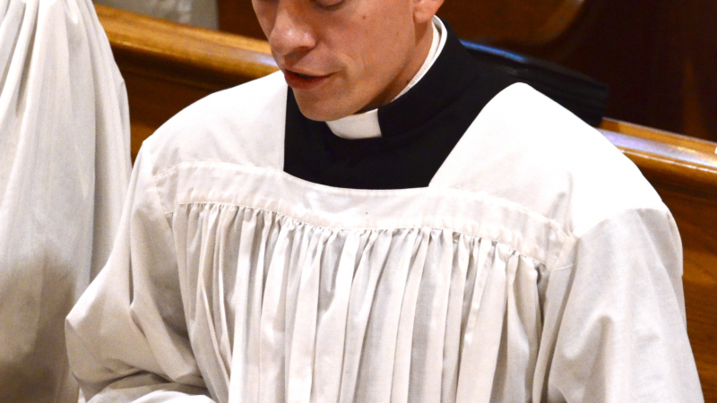 Brother Stanislaus takes final Vows